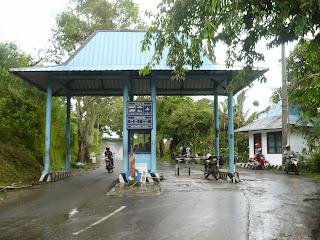 pintu masuk kawasan Makam Sunan Muria
