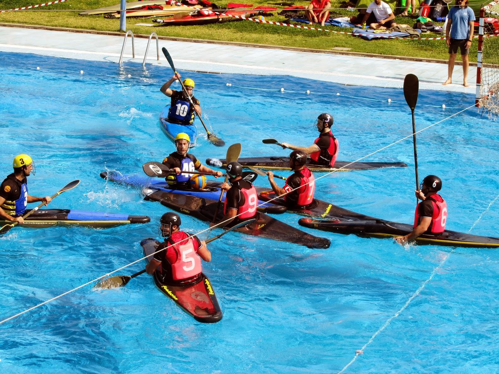 Club pirag isme silla kayak polo club pirag isme silla for Sillas para kayak