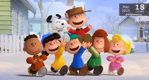 Snoopy-Charlie-Brown-Peanuts-Película-Primeros-Afiches-personajes