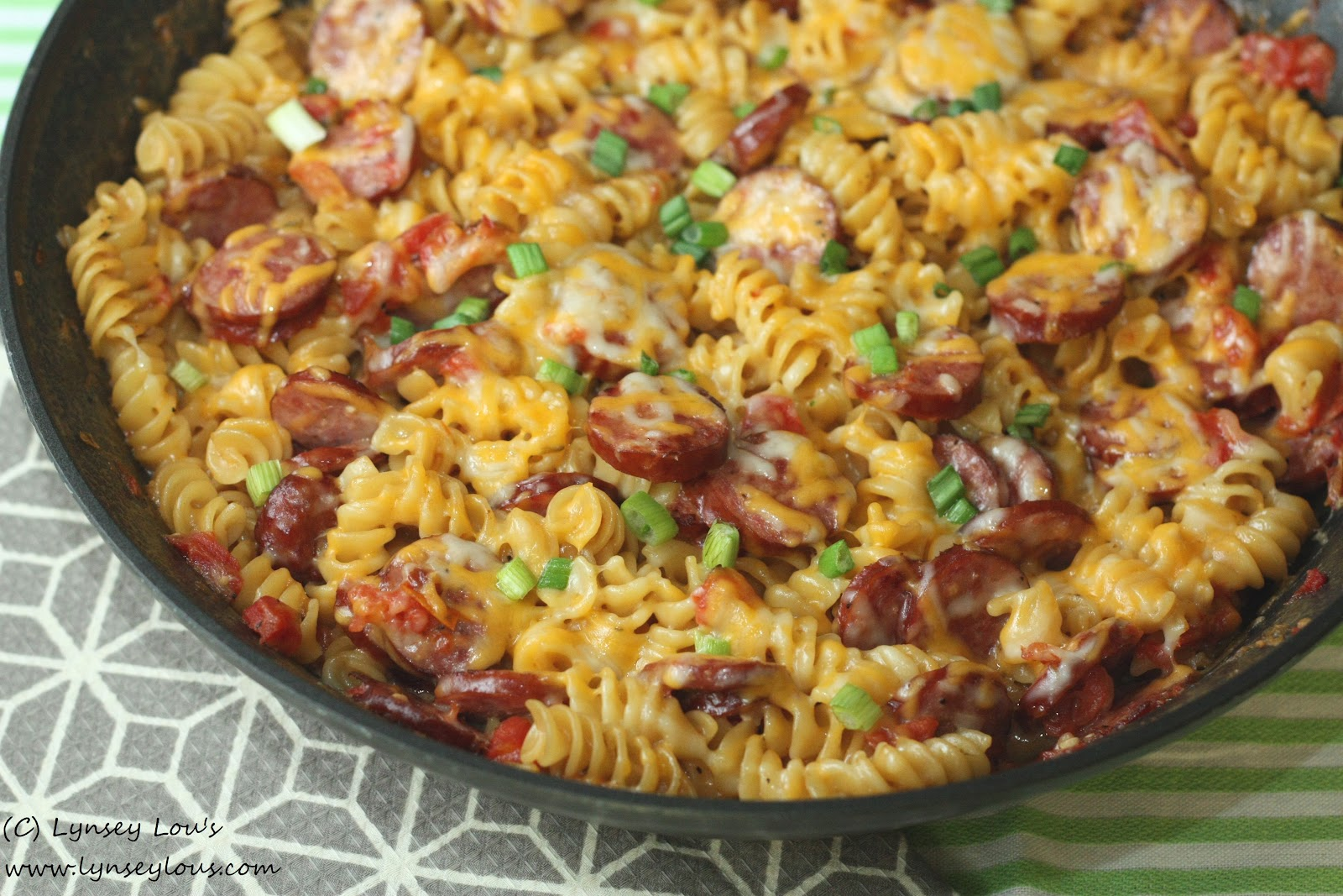 Lynsey Lou's: Spicy Sausage Casserole