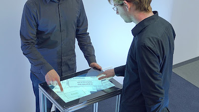 Fiberio es el nombre de la primera pantalla capaz de reconocer huellas dactilares a los estandares del FBI