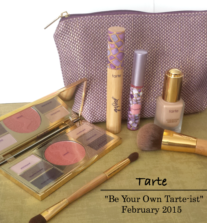 Tarte Be Your Own Tartetist Review, maracuja miracle foundcealer medium review, gifted mascara review, lipsurgence liquid lipshine exquisite review