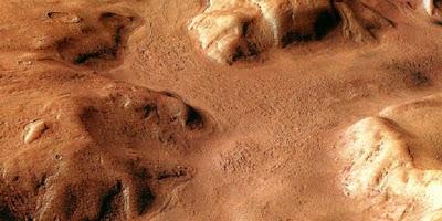 Sungai Amazon di Planet Mars