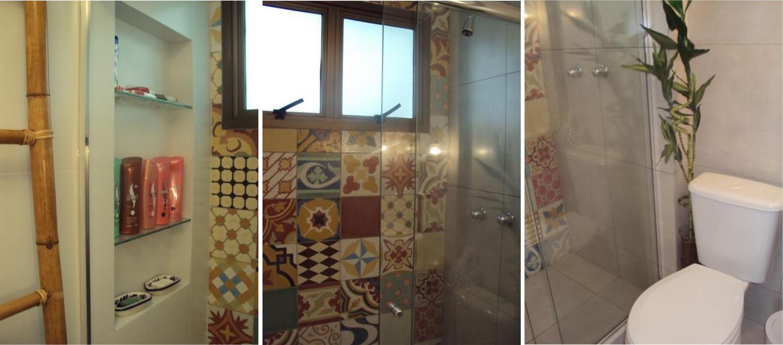 ARQUITETA MARIA HELENA TORRES Janeiro 2012 -> Banheiro Moderno E Rustico