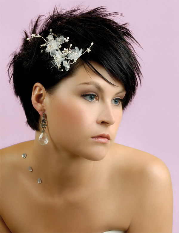 Short Wedding Hairstyles