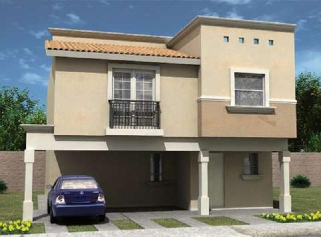 Plano de casa de dos pisos planos de casas gratis y for Planos de casas de 2 pisos