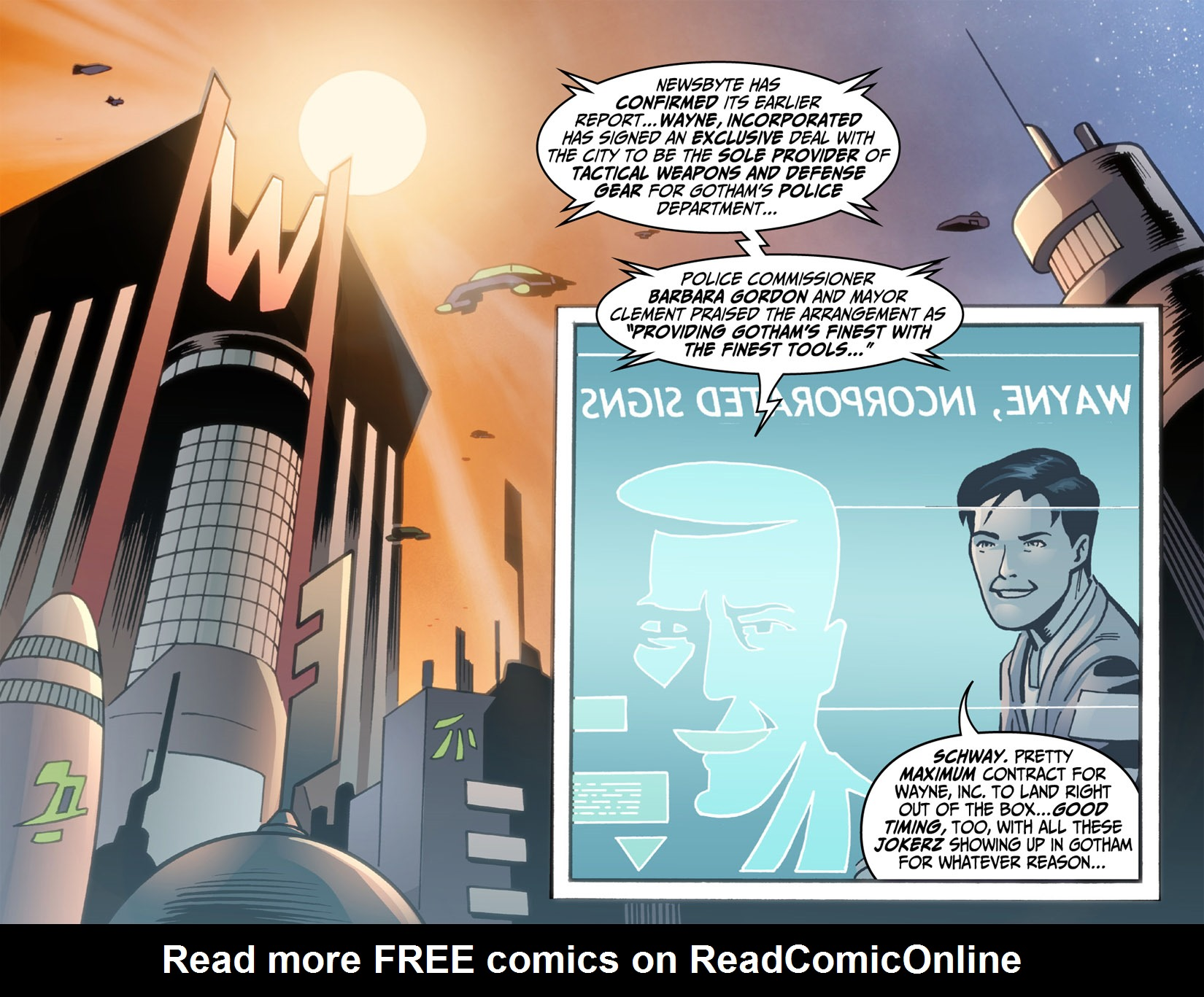 Batman Beyond (2012) Issue #3 #3 - English 16