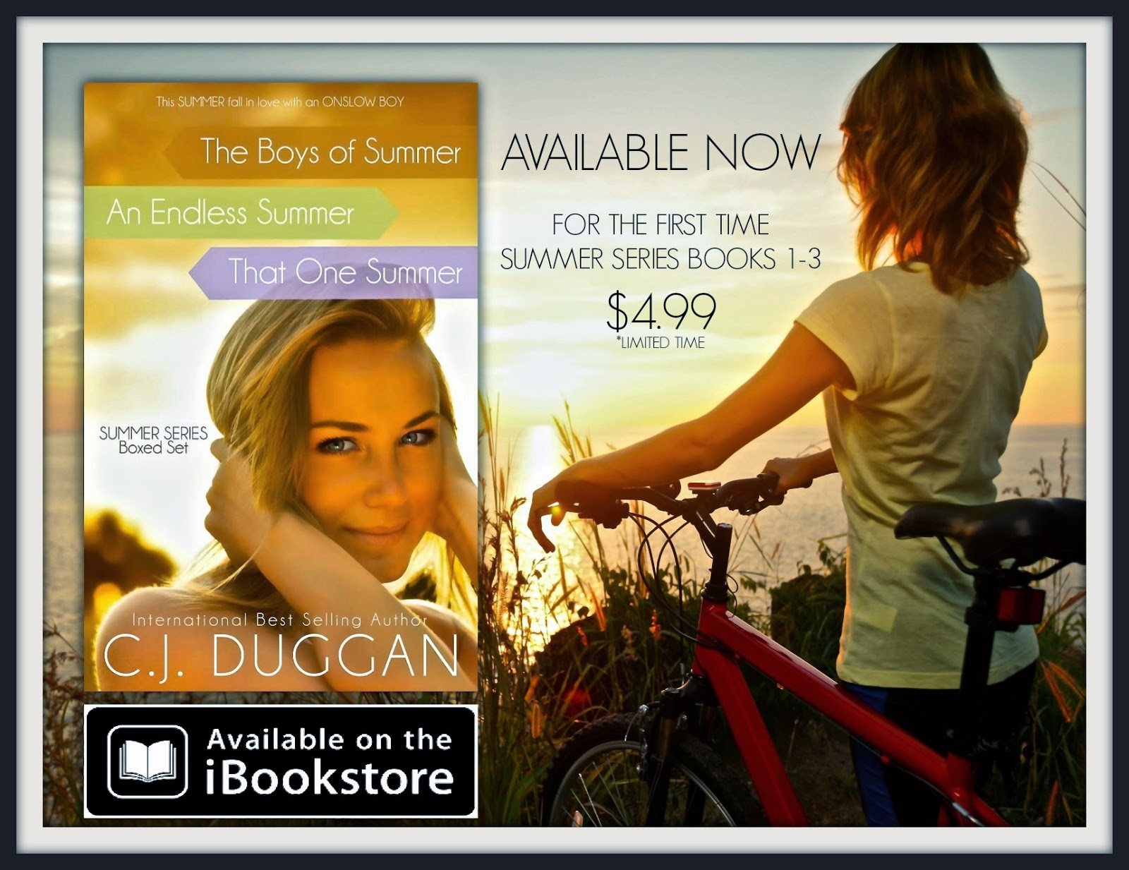 Summer Series Boxed Set Sales Promo