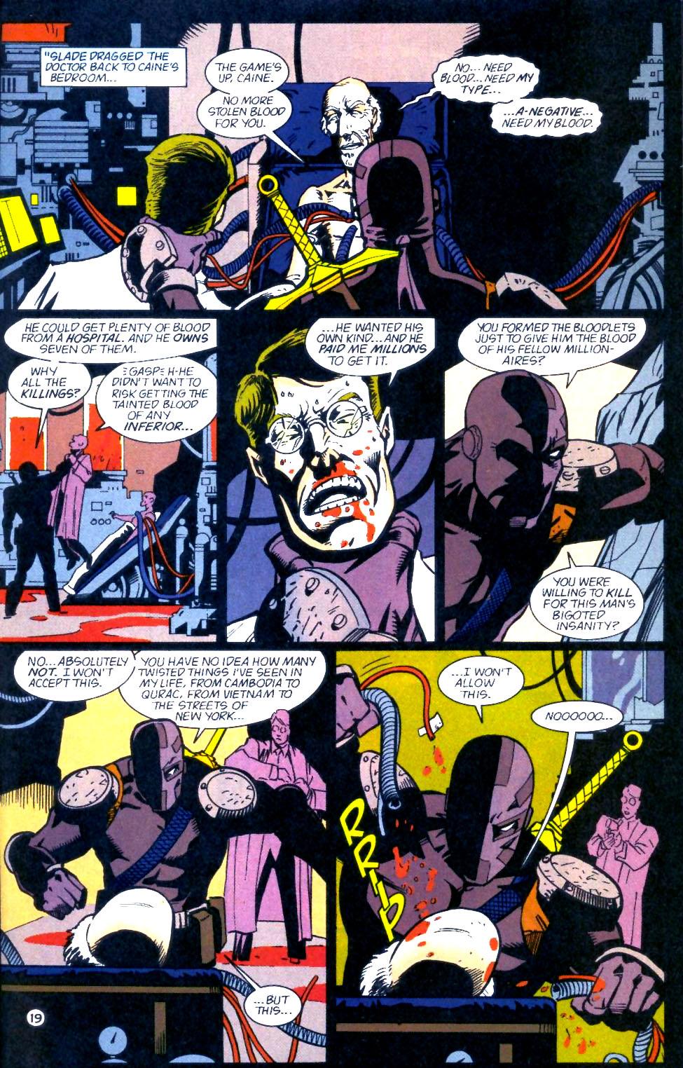 Deathstroke (1991) Issue #60 #65 - English 20