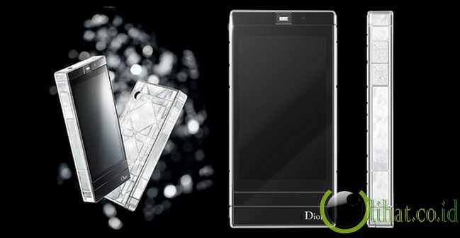 Ponsel Android Dior Reveries Haute Couture