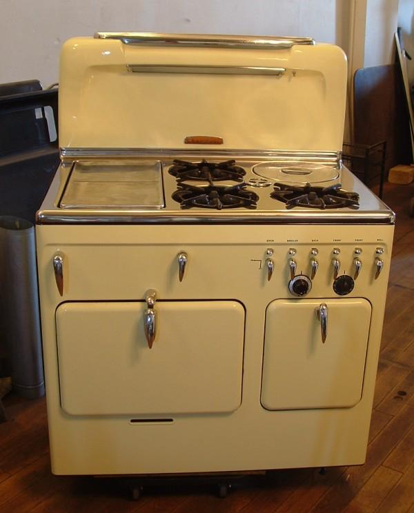 Reproduction Vintage Electric Stoves ~ Antique appliances retro refrigerator reproduction stove