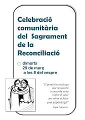 SAGRAMENT DE LA RECONCILIACIÓ