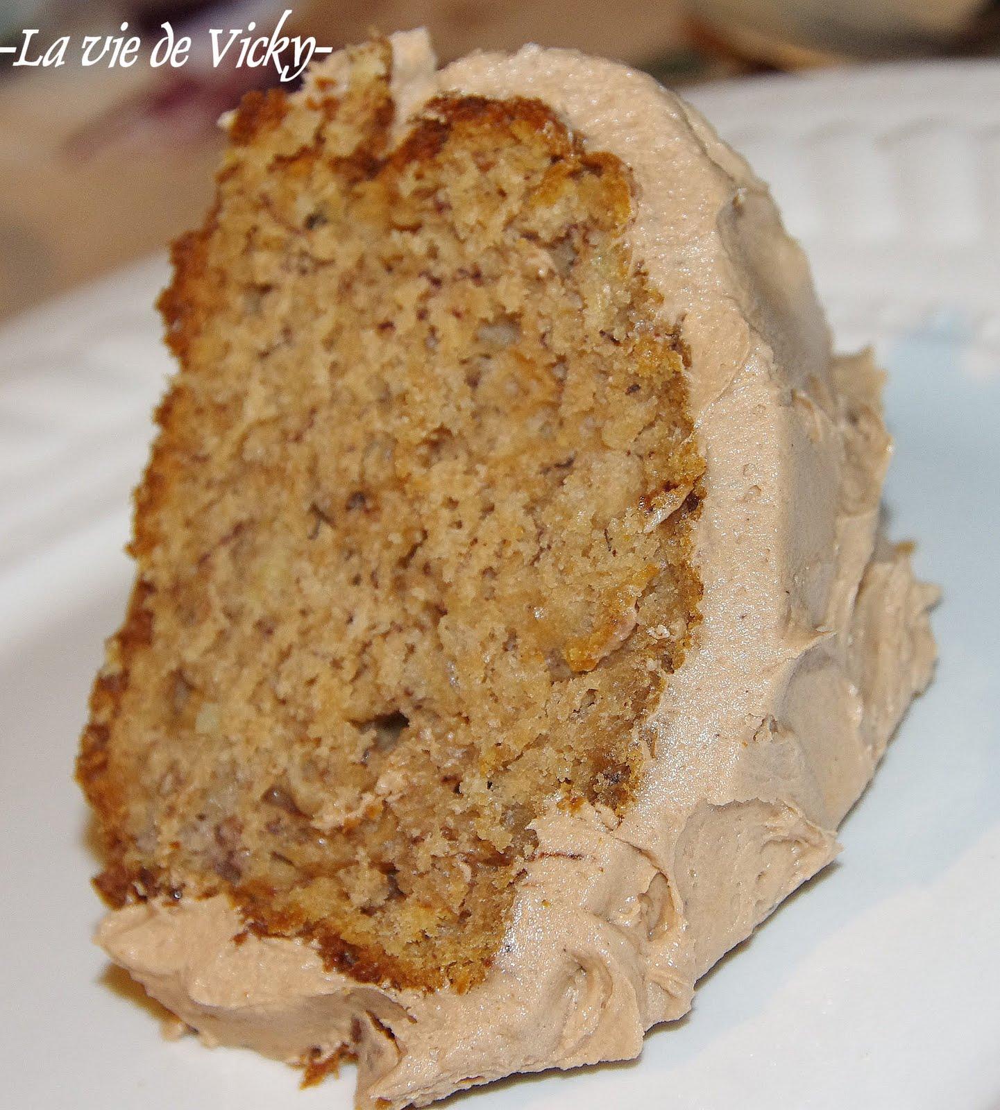 Gâteau Au Chocolat Glaçage Aux épices: Ma Petite Vie!: Gâteau Aux Bananes Et Son Glaçage Au Chocolat