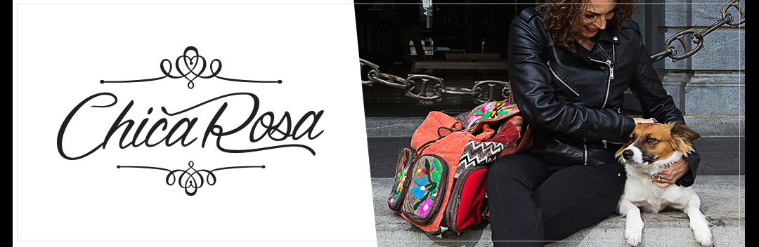 Chica Rosa Bolsas