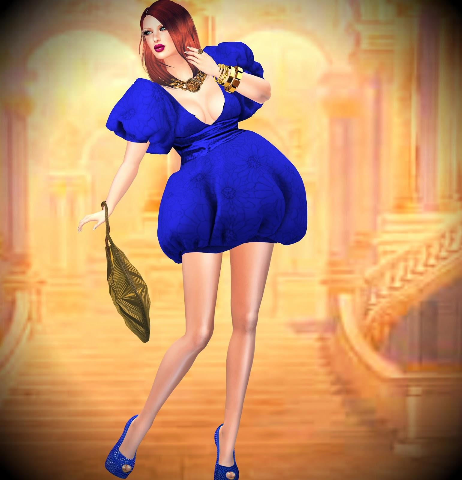 ashmoot puffy dress