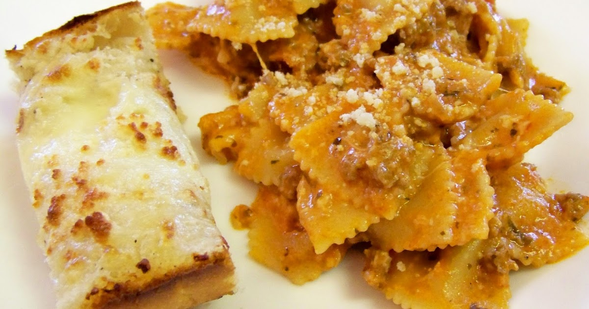 Siggy Spice Bow Tie Lasagna 15 Minute Meal