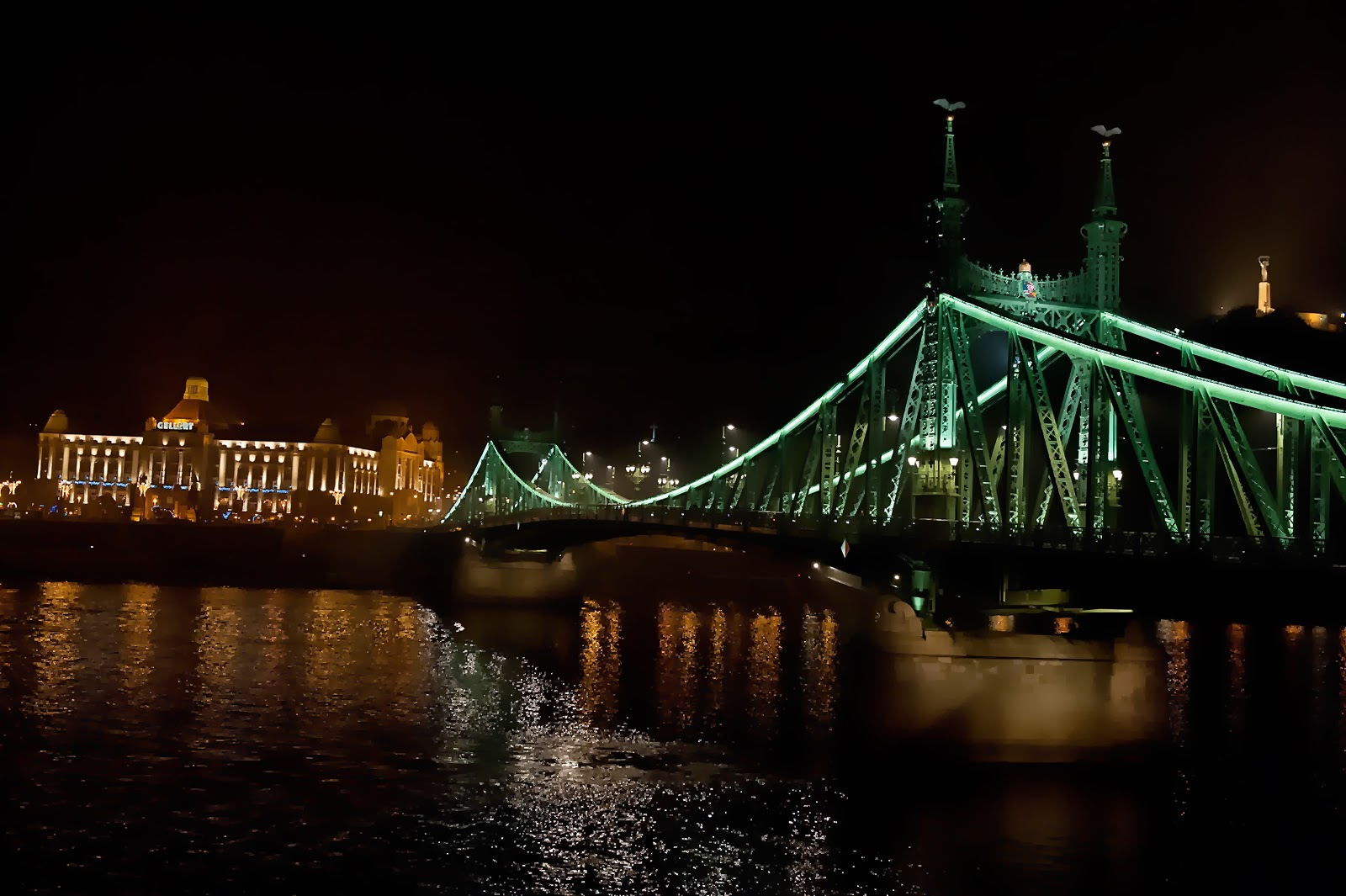 Budapest, Hungary, Liberty Bridge, Danube