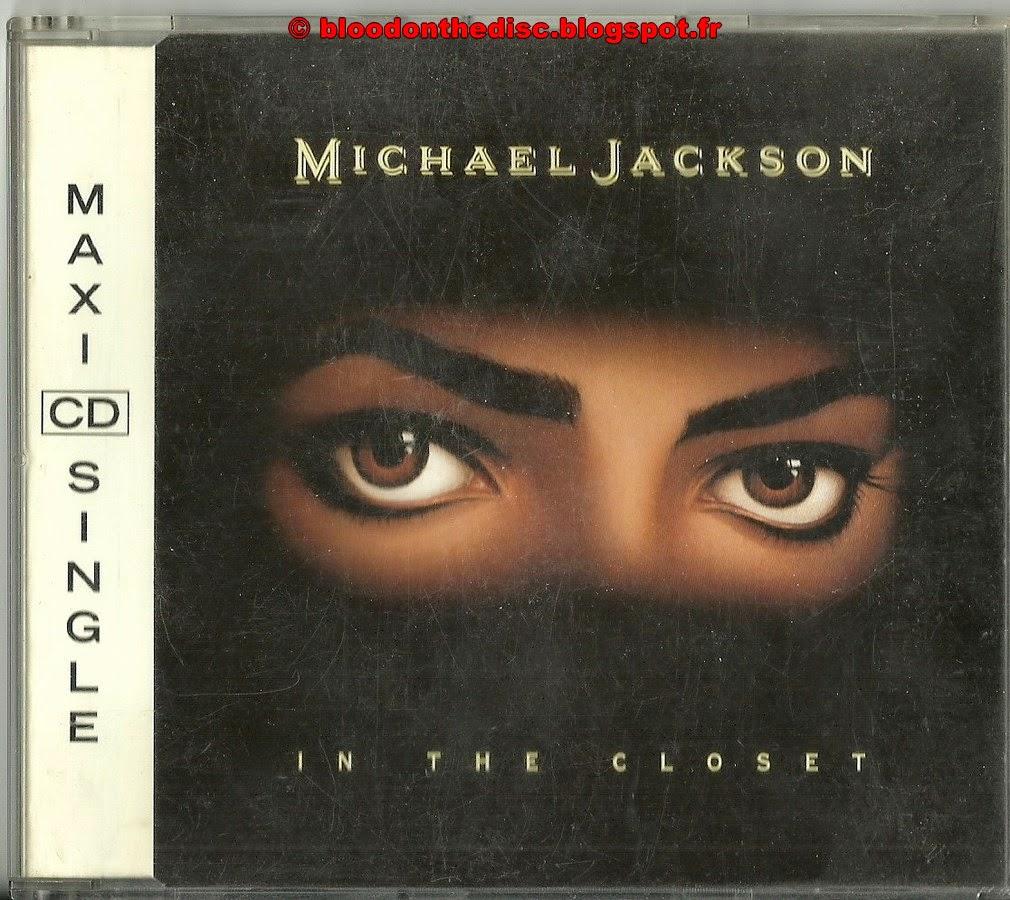 In The Closet Maxi CD Single Pochette