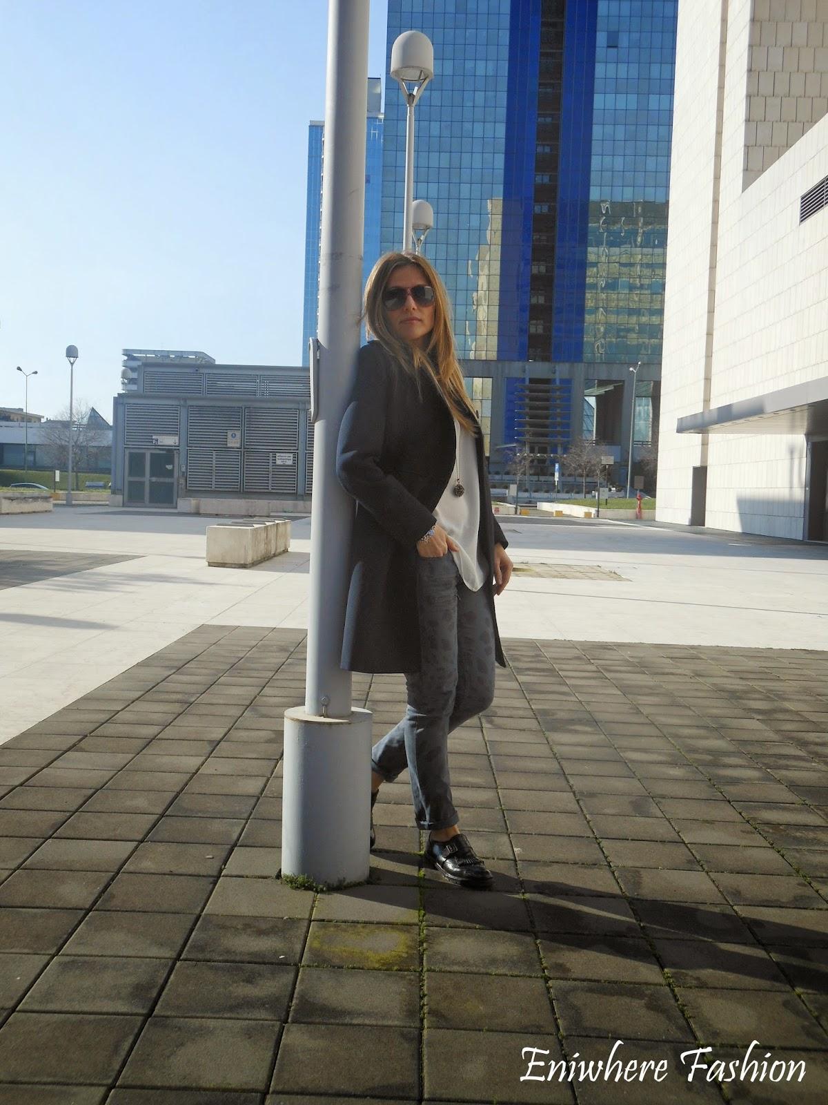Eniwhere Fashion - jeans maculato - Brescia 2