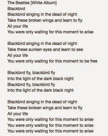 The Beatles  Blackbird Lyrics  MetroLyrics