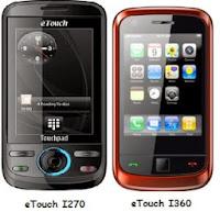 eTouch I360 dan eTouch I270