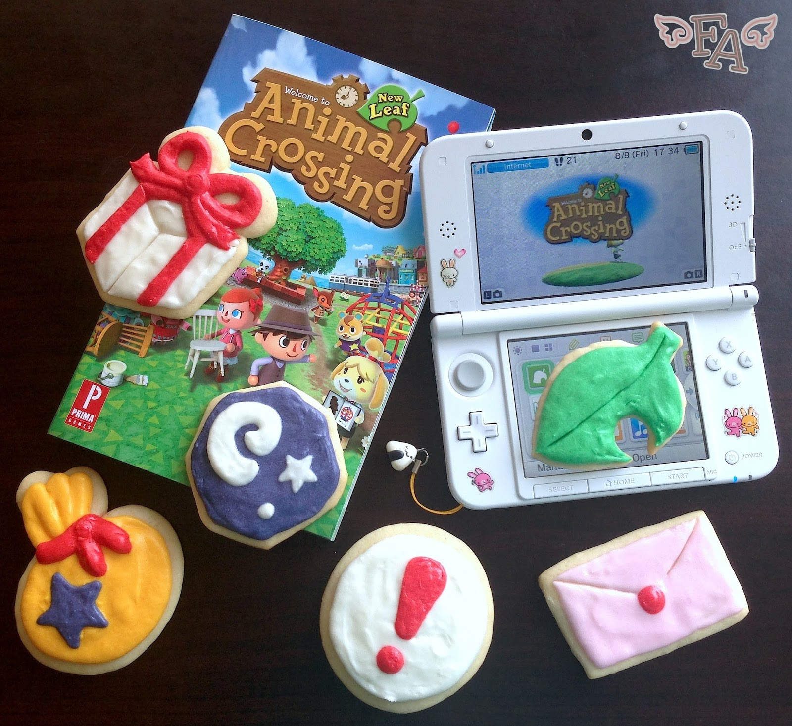 FictionFood Caf Animal Crossing New Leaf Frosted Sugar Cookies