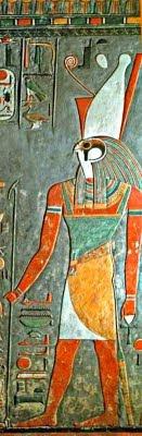 Horus (Pintura Funerària Egípcia)