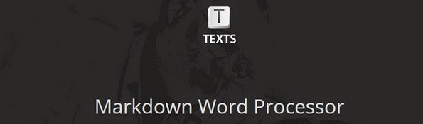 Texts markdown editor for professionals