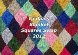 Laalaa's Blanket Squares Swap 2012