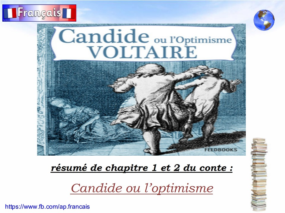 a report on candide by voltaire Candide, by voltaire table of contents part i how candide was brought up in a magnificent castle and how he was driven thence what befell candide among the.