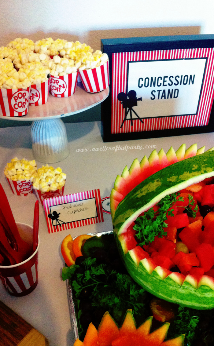 A Movie Themed Bridal Shower – A Well Crafted Party