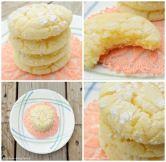 Lemon Cake Cookies