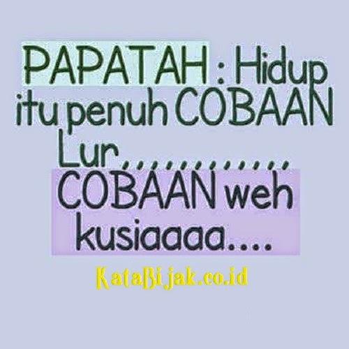 Gambar DP BBM Lucu Bahasa Sunda Terbaru