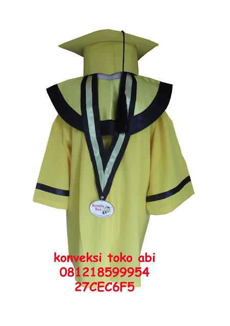 Seragam Baju Wisuda Anak