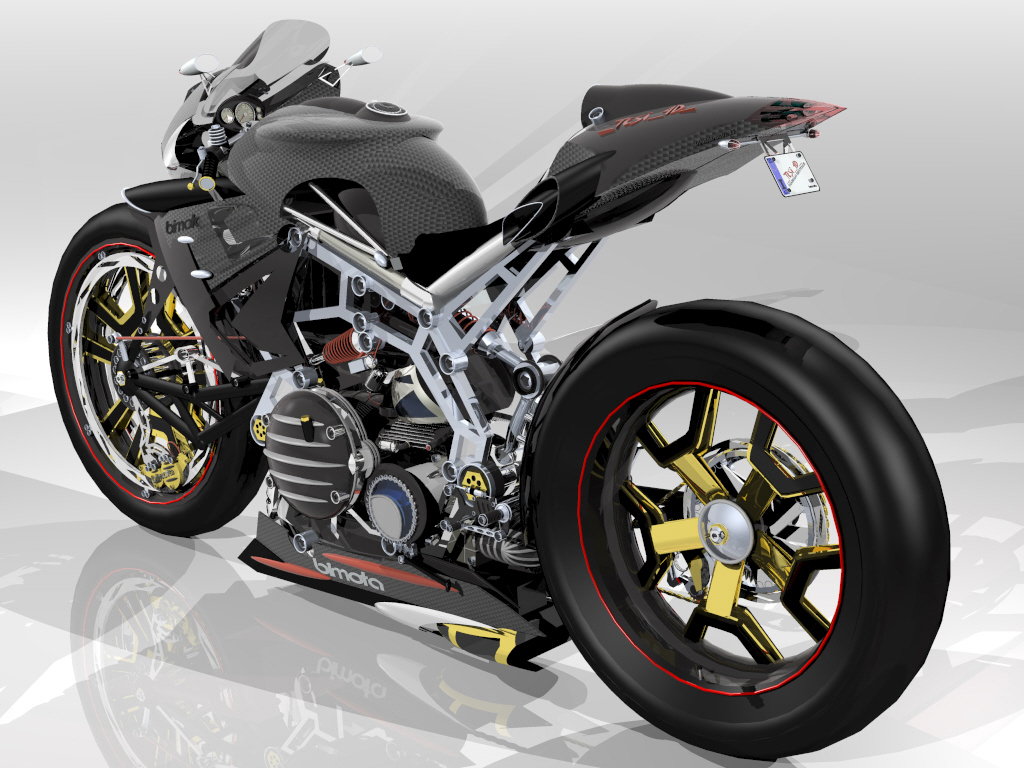 World Motorcycle Wallpapers Bimota Tesi
