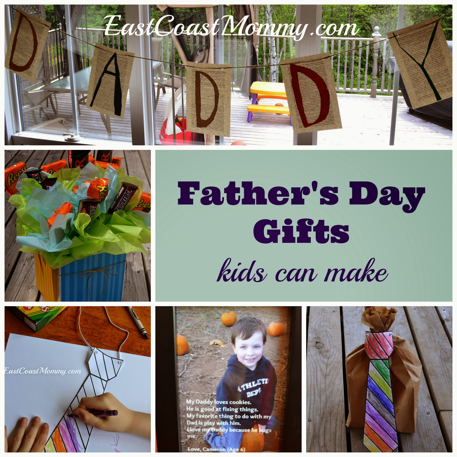 East Coast Mommy 6 Father 39 S Day Gifts Kids Can Make