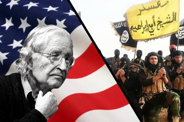 "Noam Chomsky: ""The United States created ISIS."""