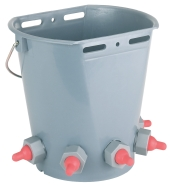 Lamb Feeding Bucket 5 Teats (Ember Dot Cempe 5 Dot)