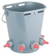 Lamb Feeding Bucket 5 Teats (Ember Dot Cempe 5 Dot)