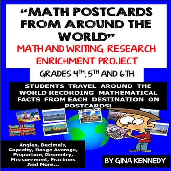 Geography Math Enrichment Project