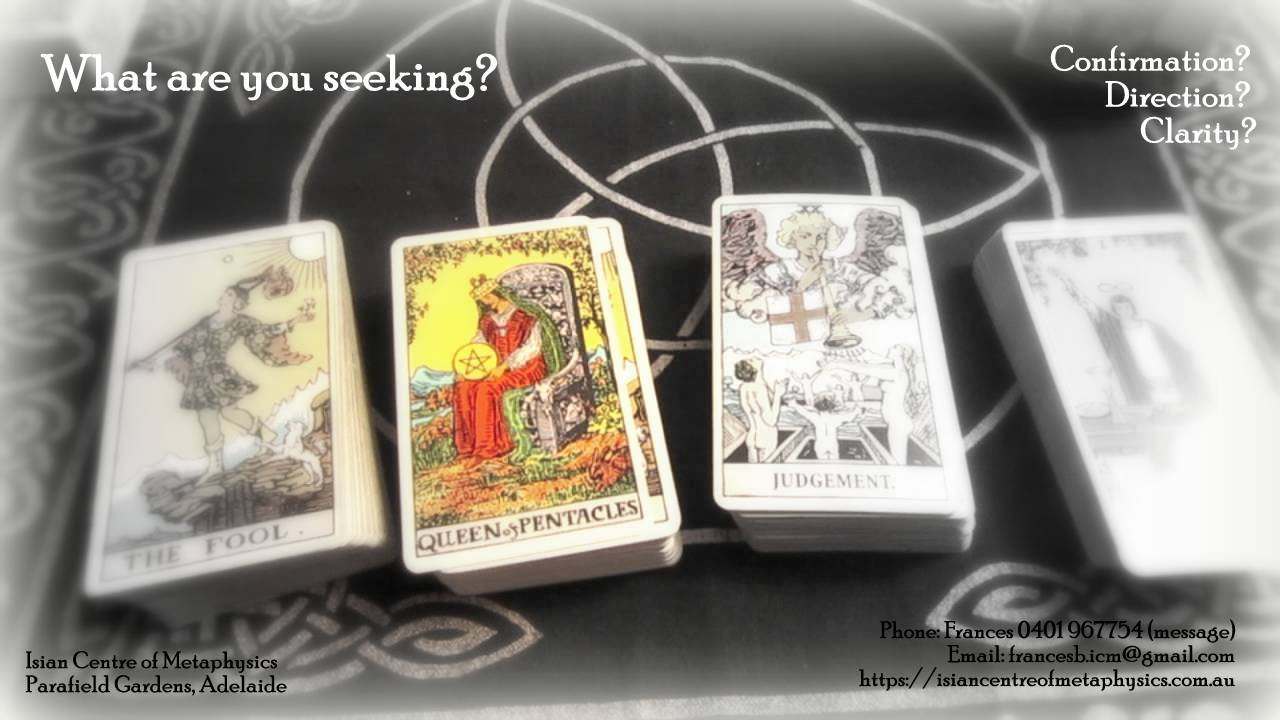 Tarot Card Readings Available