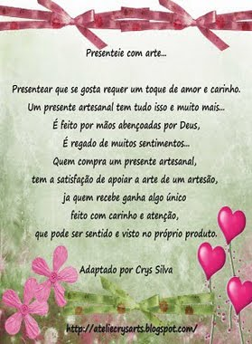 Presenteie com amor!