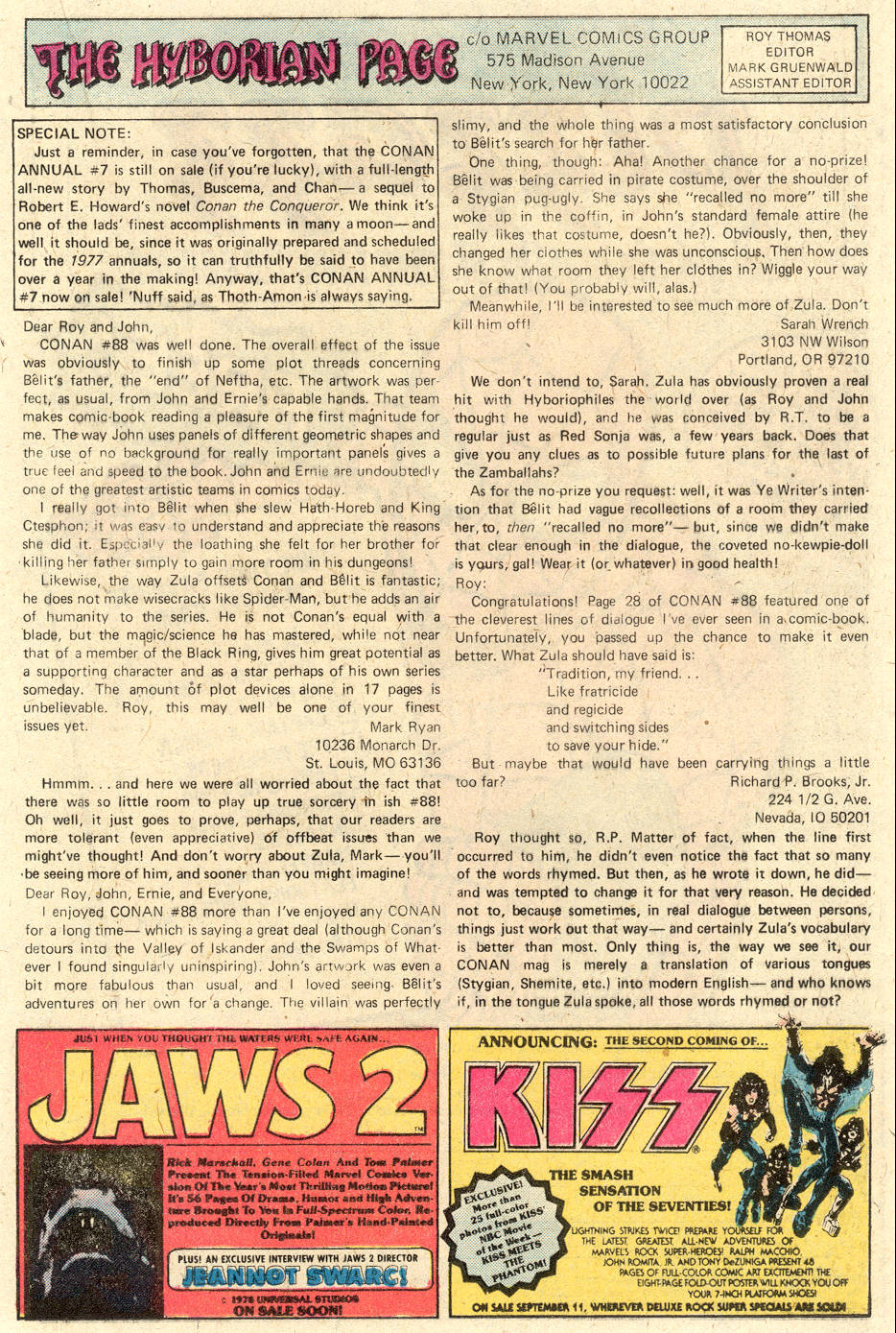 Conan the Barbarian (1970) Issue #92 #104 - English 21