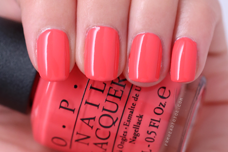 Manicure Monday Opi Live Love Carnaval From Head To Toe