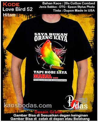 Kaos Lovebird 52