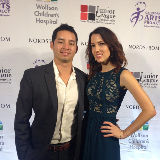 Nordstrom Gala, Jacksonville, Meaghan and Didier Alvarado