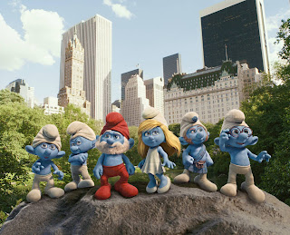 The Smurfs Movie Wallpaper