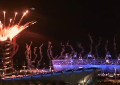 OVNI en inauguracion de las olimpiadas