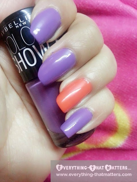 10 maybelline color show nail paint swatcheseverything - Show me the color lavender ...