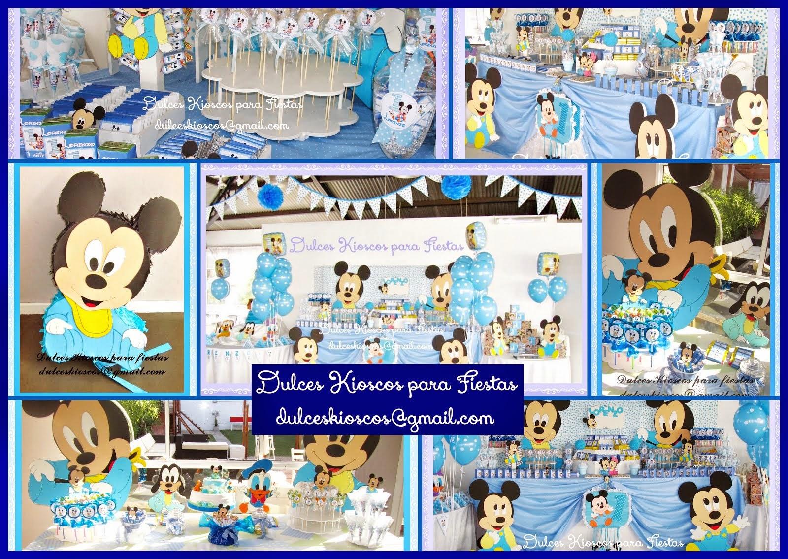 Ambientaciones de Mickey Bebe!!